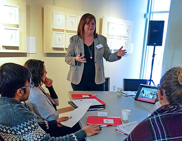 Annie Gingras experte-conseil en ressources humaines chez Tabono